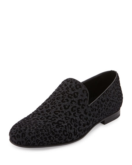 Jimmy Choo Men's Black Velvet L...
