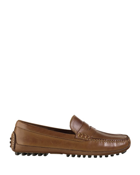Image 2 of 4: Cole Haan Grant Canoe Penny Loafer, Brown