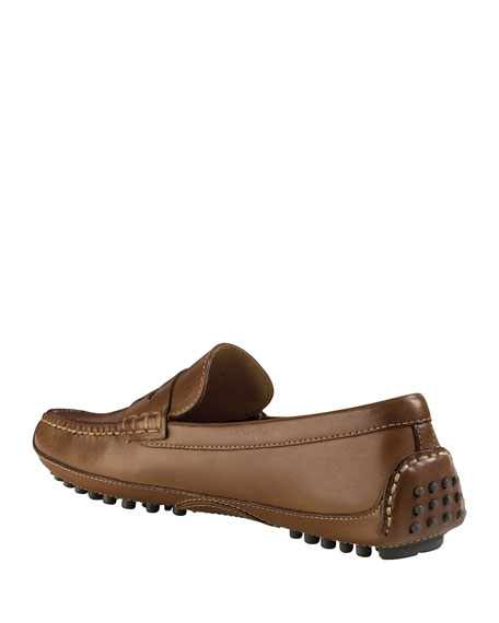 Image 3 of 4: Cole Haan Grant Canoe Penny Loafer, Brown