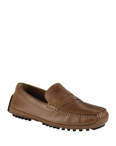 Image 1 of 4: Cole Haan Grant Canoe Penny Loafer, Brown