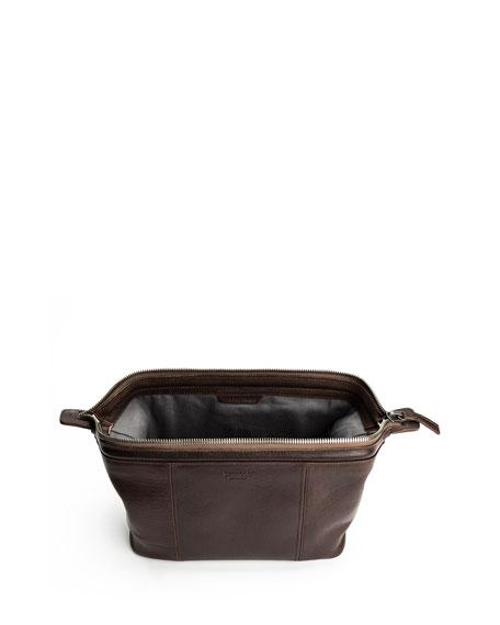 Men's Frame Leather Travel Kit