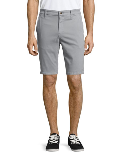 Brixton Woven Trousers Shorts, Dark Gray