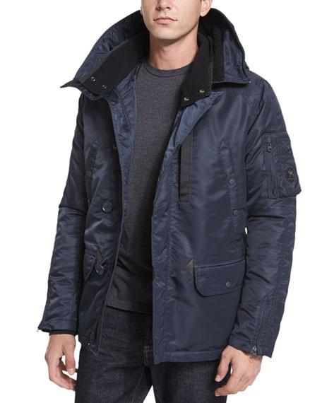 SpiewakHeron Water-Resistant Snorkel Jacket, Navy