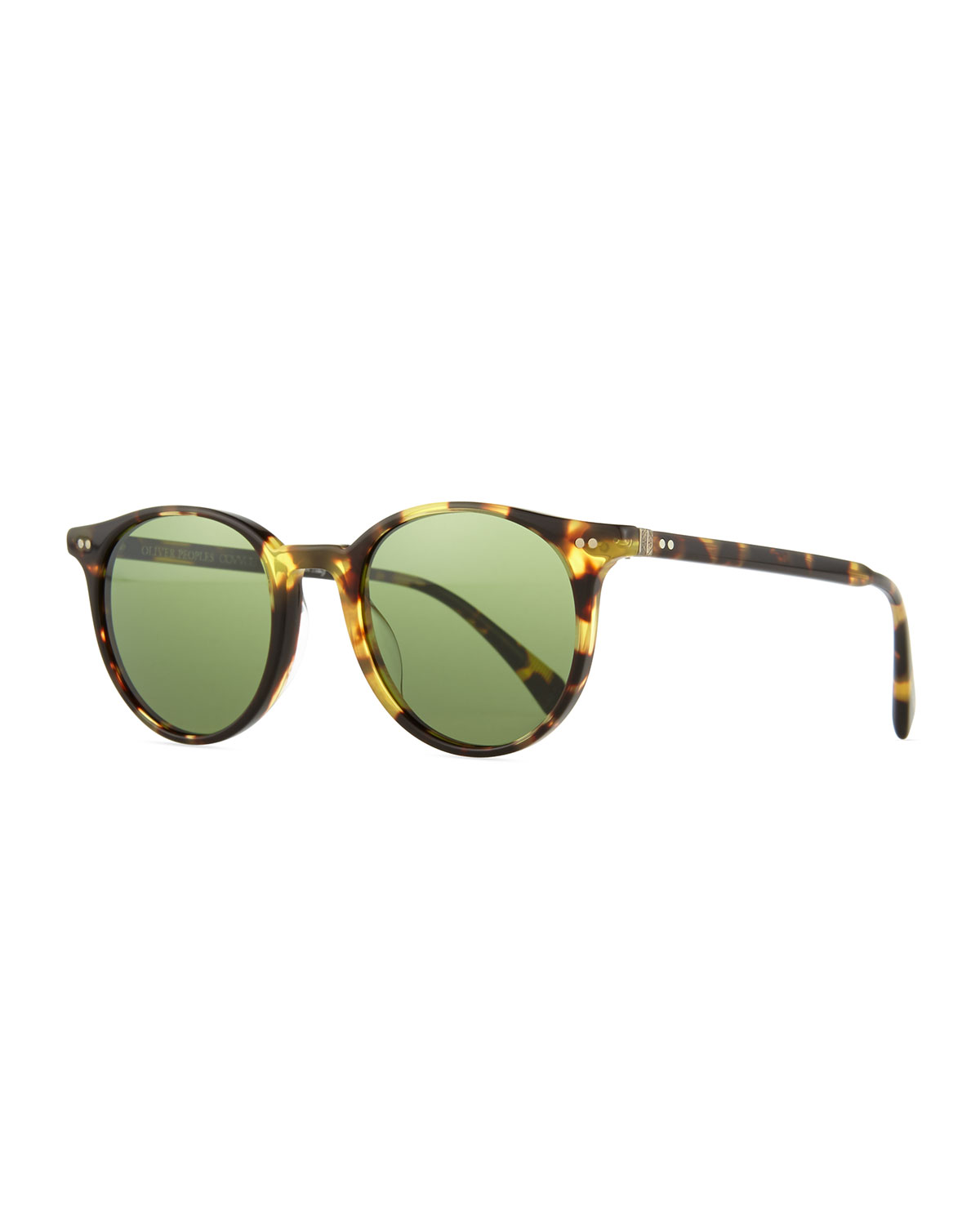 d5763be3df Oliver Peoples Delray Sun 48 Round Sunglasses