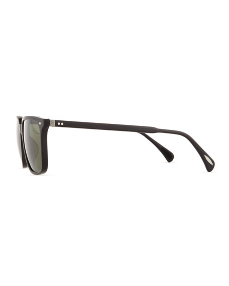 OPLL Sun 53 Polarized Sunglasses, Black