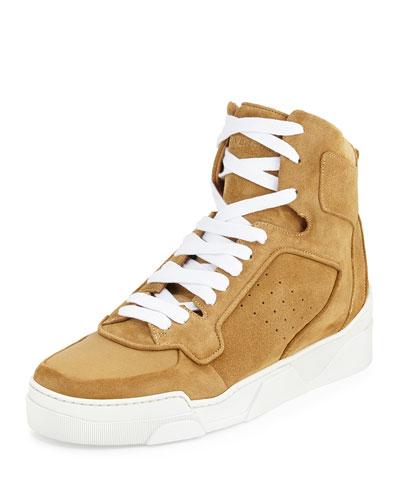 Tyson High-Top Sneaker, Beige