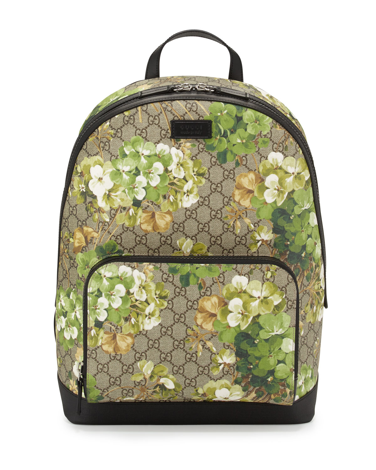 86880c152eda Gucci GG Blooms Canvas Backpack, Multi | Neiman Marcus