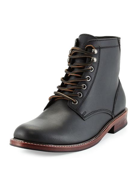 Elkton 1955 Leather Boots, Black