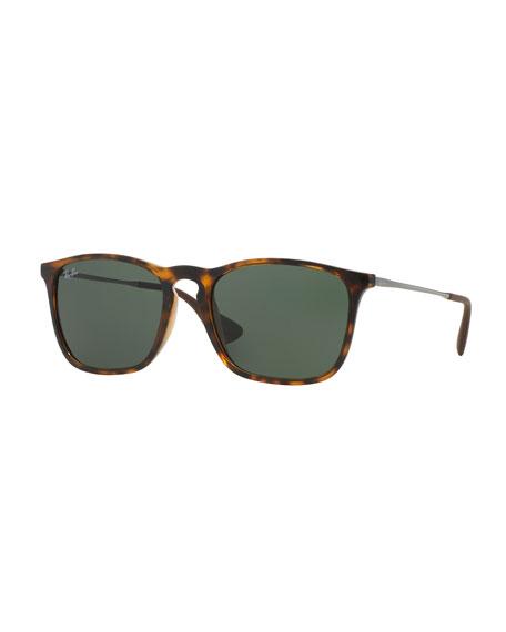 Ray-Ban Wayfarer Plastic Sunglasses, Brown