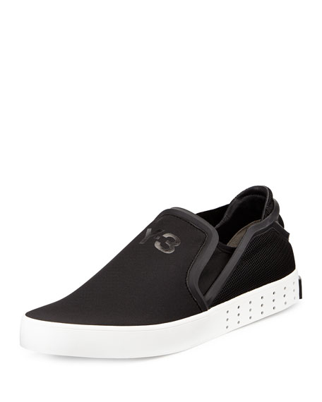 Y-3 Lavar Slip-On Sneaker, Black