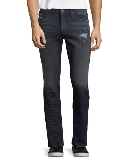 J Brand Tyler Faded Distressed Denim Jeans, Talley