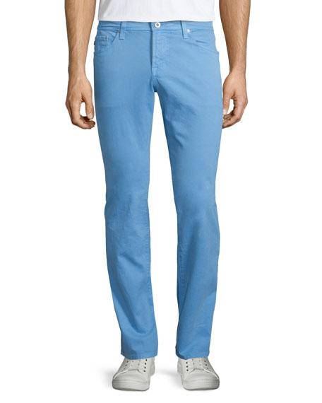AG Adriano Goldschmied Five-Pocket Sud Jeans, Light Blue