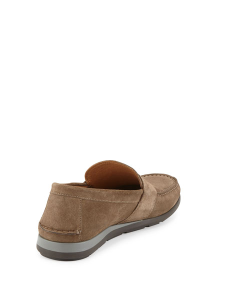 Alan Suede Slip-On Loafer