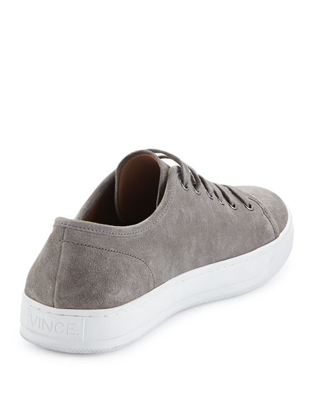 Austin Suede Low-Top Sneaker, Gray