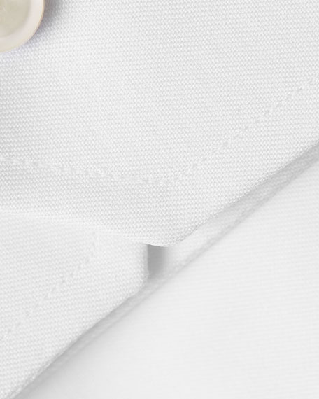 Eton Slim-Fit Twill Dress Shirt