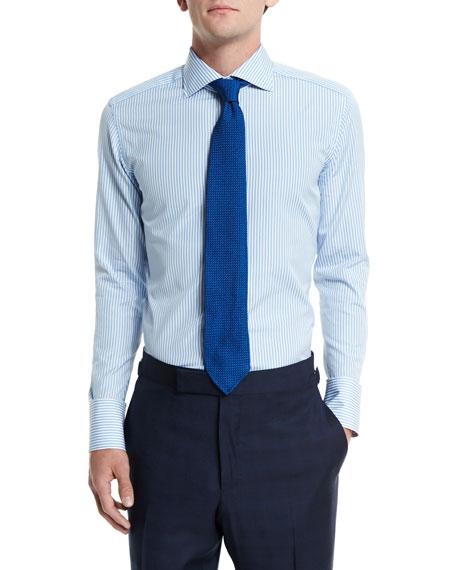 Solid Gauze Silk Tie