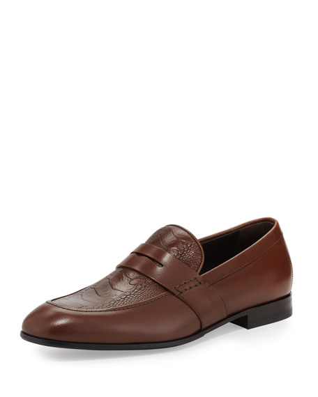 Salvatore Ferragamo Gaudo 2 Calfskin Penny Loafer with