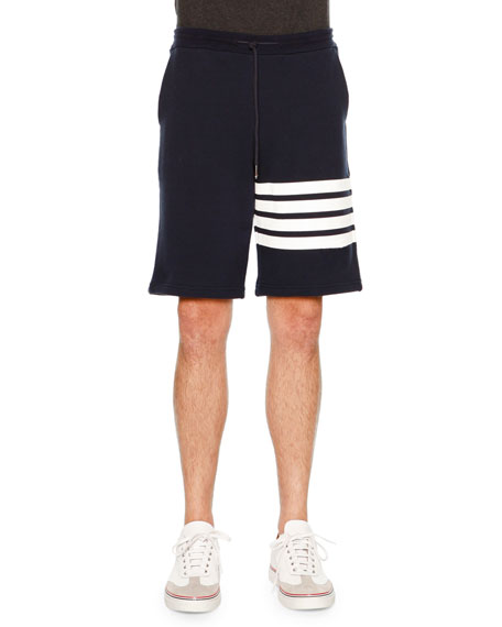 Thom Browne Short-Sleeve Jersey Tee & Classic Striped-Leg