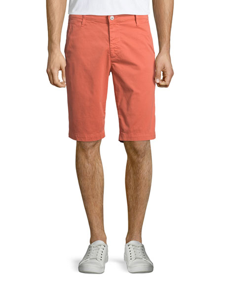 Griffin Tailored-Fit Shorts, Brick Dust