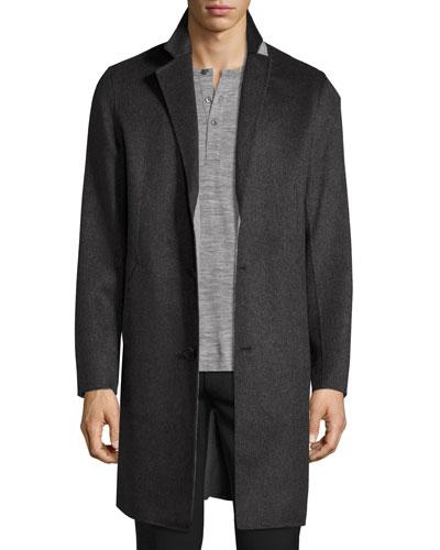 Delancey Double-Face Cashmere Coat