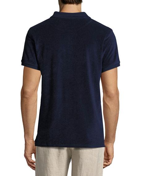 Terry Short-Sleeve Polo Shirt