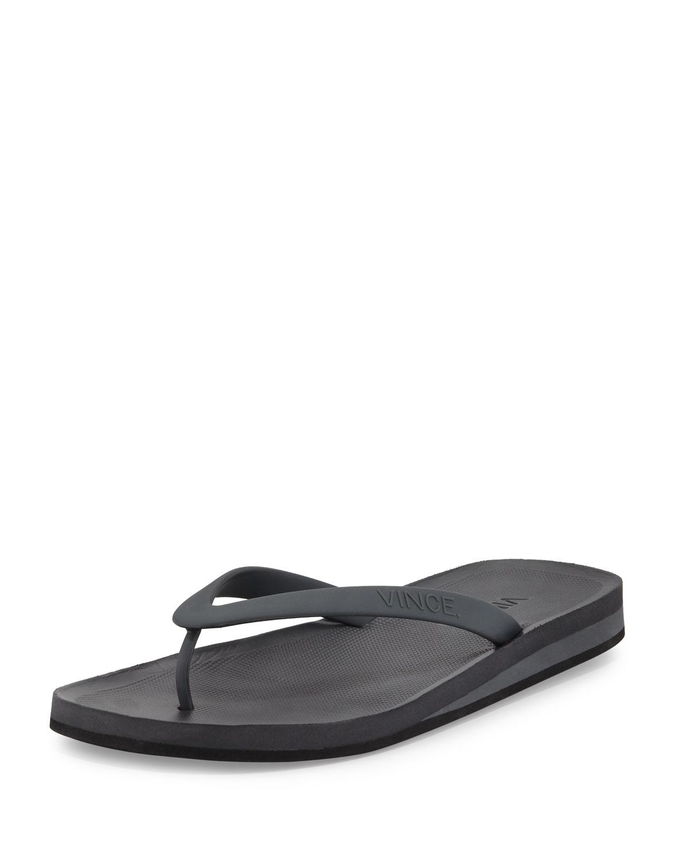 9844719020f4 Vince Tyler Rubber Flip-Flop Sandal