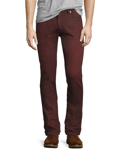 Tepphar 858X Denim Jeans, Red