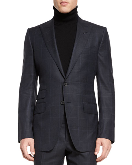 TOM FORD O'Connor Base Prince of Wales Two-Piece