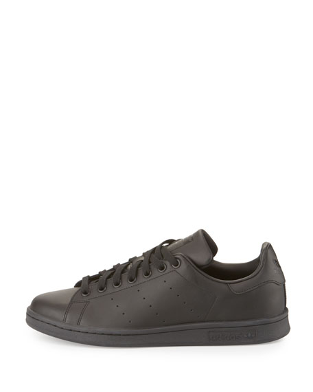 Men's Stan Smith Foundation Perforated Leather Sneaker, Black