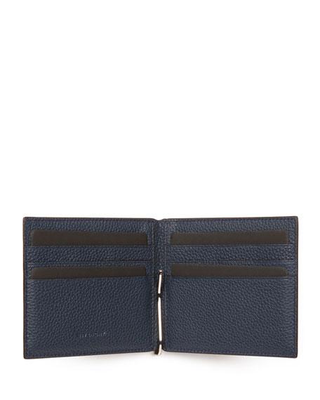 Leather Wallet w/Money Clip