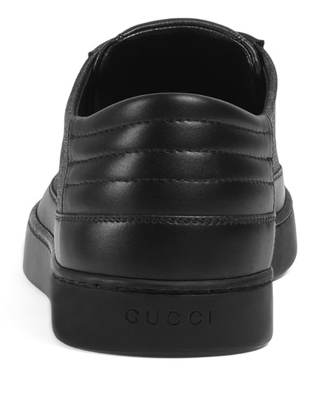 a045c3fb83c7 Image 4 of 4  Gucci Men s Common GG Supreme Low-Top Sneakers