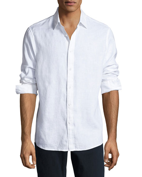 Linen Button-Down Shirt