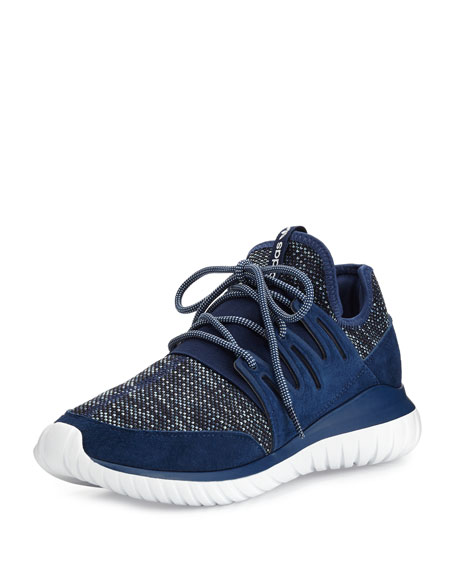 Men's Tubular Radial Trainer Sneaker, Navy