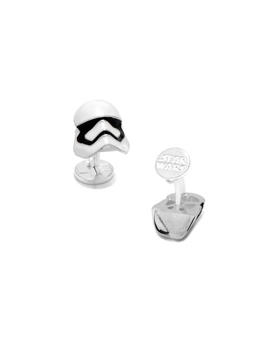3D Star Wars Stormtrooper Cuff Links
