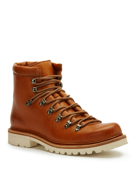 Woodson Leather Hiker Boots