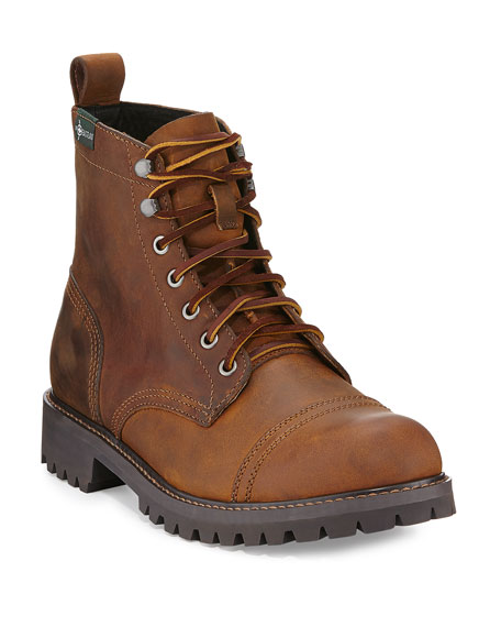 Eastland 1955 Edition Ethan 1955 Cap-Toe Lug Boots, Dark Walnut
