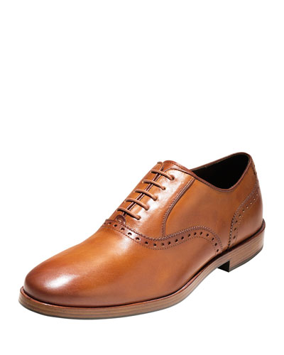 Hamilton Grand Plain-Toe Oxford, British Tan