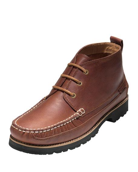 Cole Haan Connery Moc-Toe Chukka Boot, Barley
