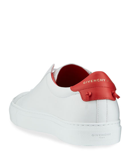 Image 4 of 4: Givenchy Men's Urban Street Leather Low-Top Sneakers