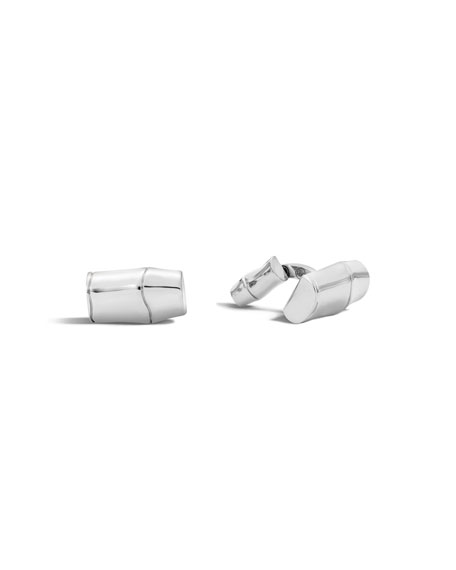 John Hardy Men's Bamboo Collection Sterling Silver Cuff Links