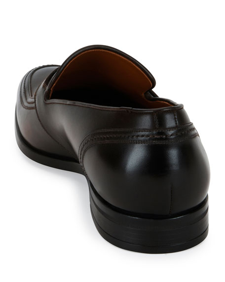 Bally Lavoli Leather Loafer, Brown