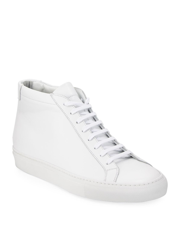 f505ad064158f Common ProjectsMen s Original Achilles Men s Leather Mid-Top Sneakers