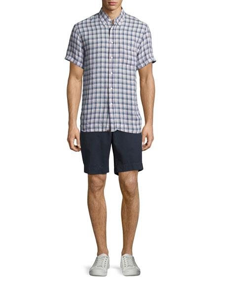 Clyde Cotton-Linen Shorts