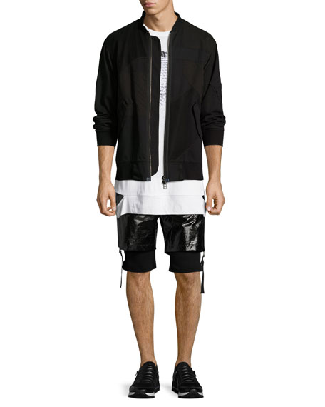 Double-Layer Shorts, Black
