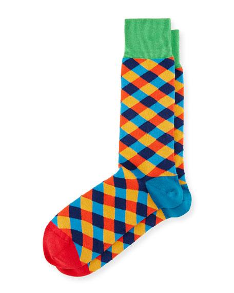 Diamond Tile Socks