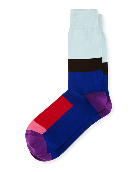 Gogo Modern Colorblock Socks