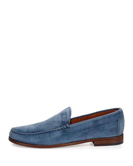 Nate Men's Suede Slip-On Loafer