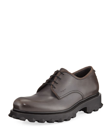 Men's Dassel 2 Lug-Sole Leather Oxfords