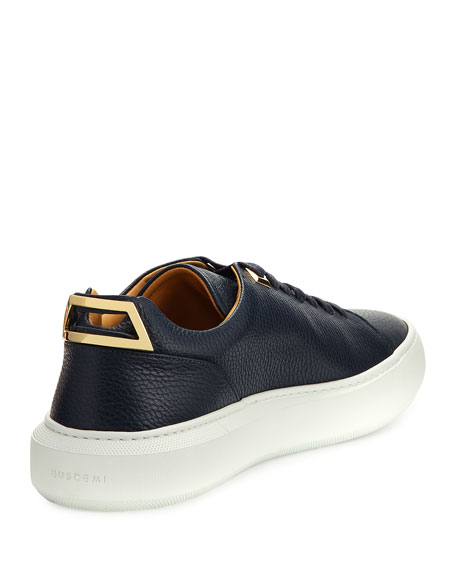 Men's 50mm Leather Low-Top Sneakers