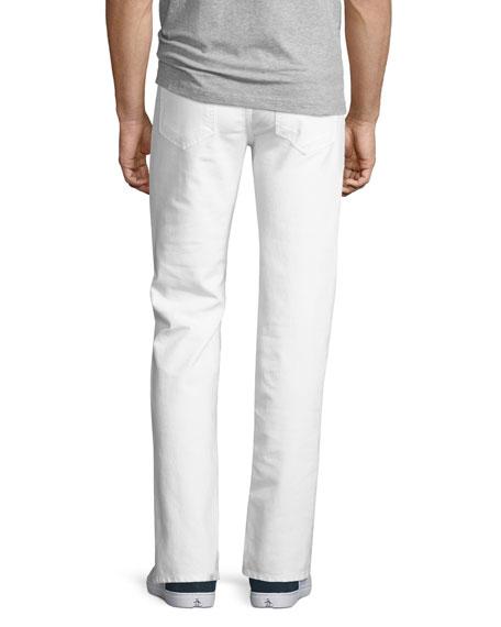Brixton Kinetic Denim Slim-Straight Jeans, Ronan (White)